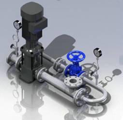 水泵防汽蚀装置
